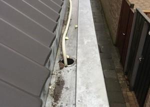 Lekkende dakgoot